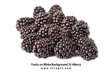 Fruits on White Background 23 #Berry
