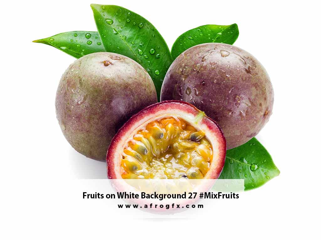 Fruits on White Background 27 #MixFruits