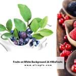 Fruits on White Background 26 #MixFruits