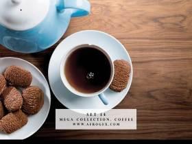 Mega Collection. Coffee #14 - Stock Photo