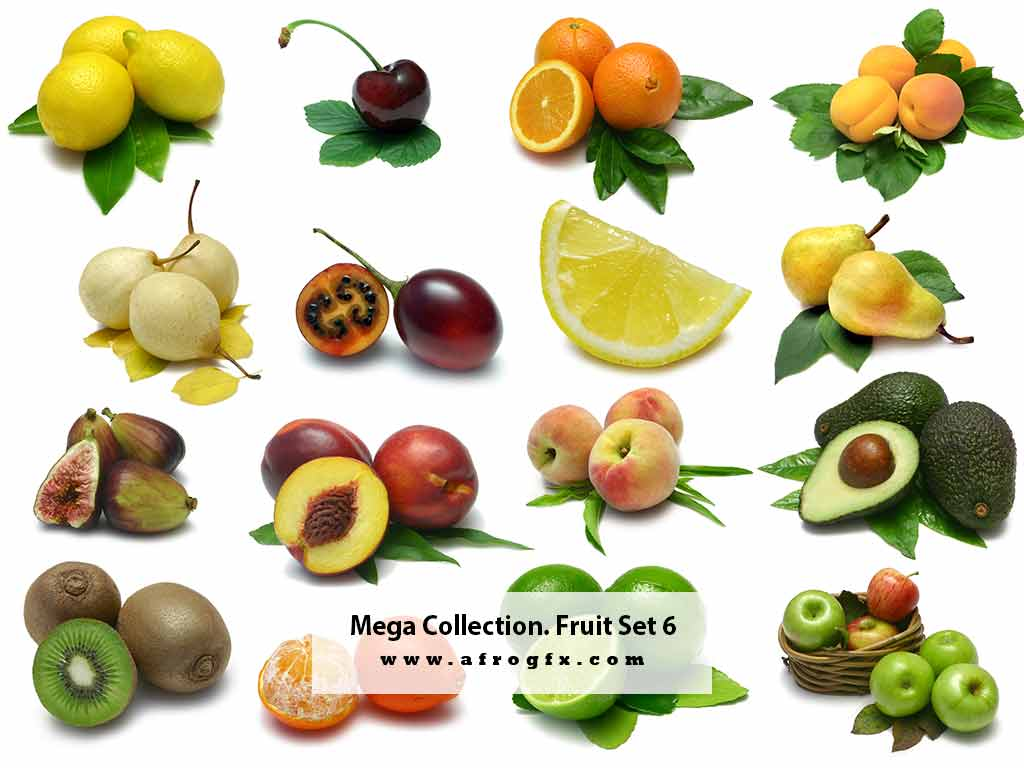 Mega Collection. Fruit #6