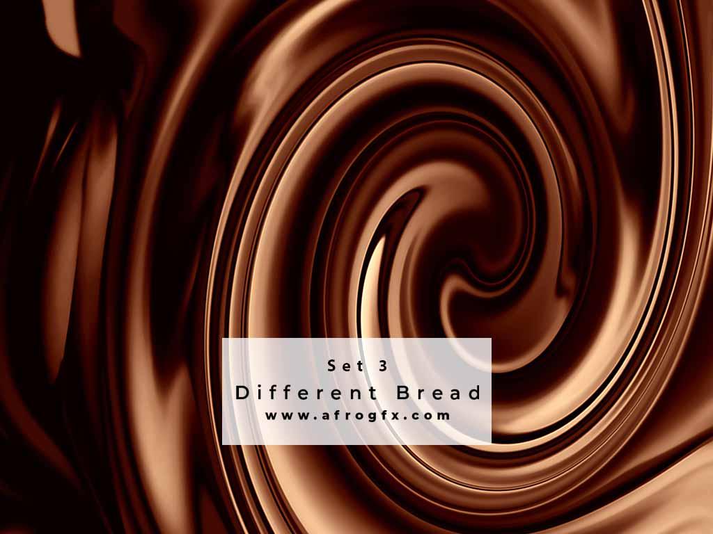 Chocolate Collection Set 3 Stock Photo