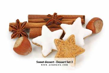 Sweet dessert - Dessert - Collection Set 3