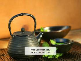 Food Collection Set 2 - Stock Photo