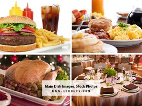 Main Dish Images, Stock Photos