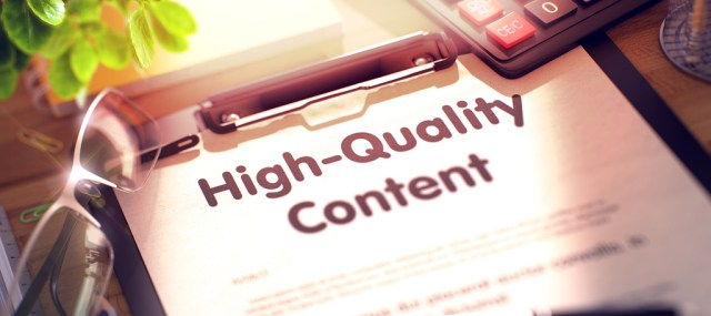 Make available quality content during your email marketing campaign