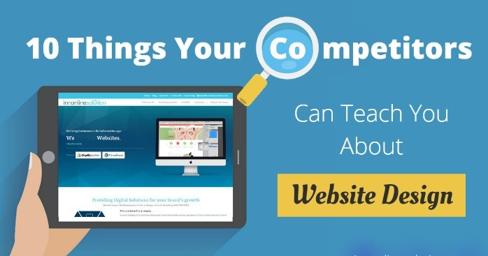 Check out your competitors' logos and website designs