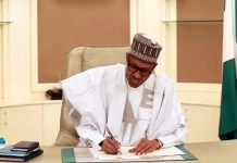 Buhari signs Executive Order promoting local content in Nigeria