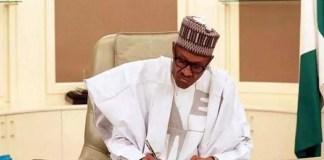 Buhari signs Executive Order promoting local content in Nigeria