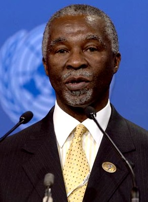 President Thabo Mbeki of South Africa