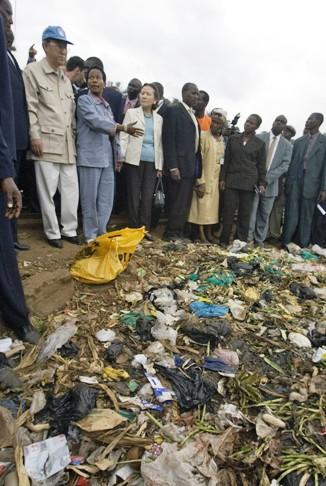 Kiberia slums in Nairobi