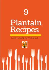 Plantain recipes afrolems e-book
