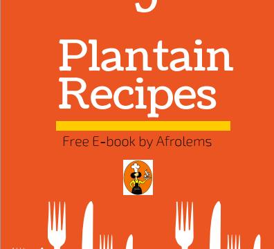 Plantain recipes free book