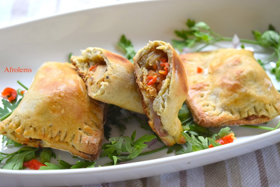 plantain chicken pies