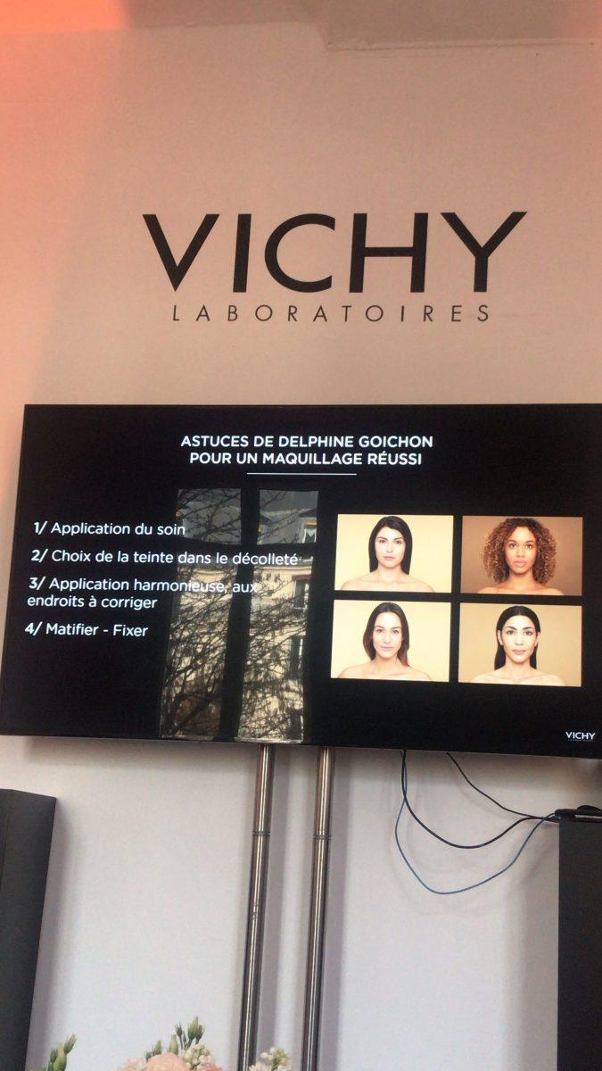 vichy derma mineral blend evenement