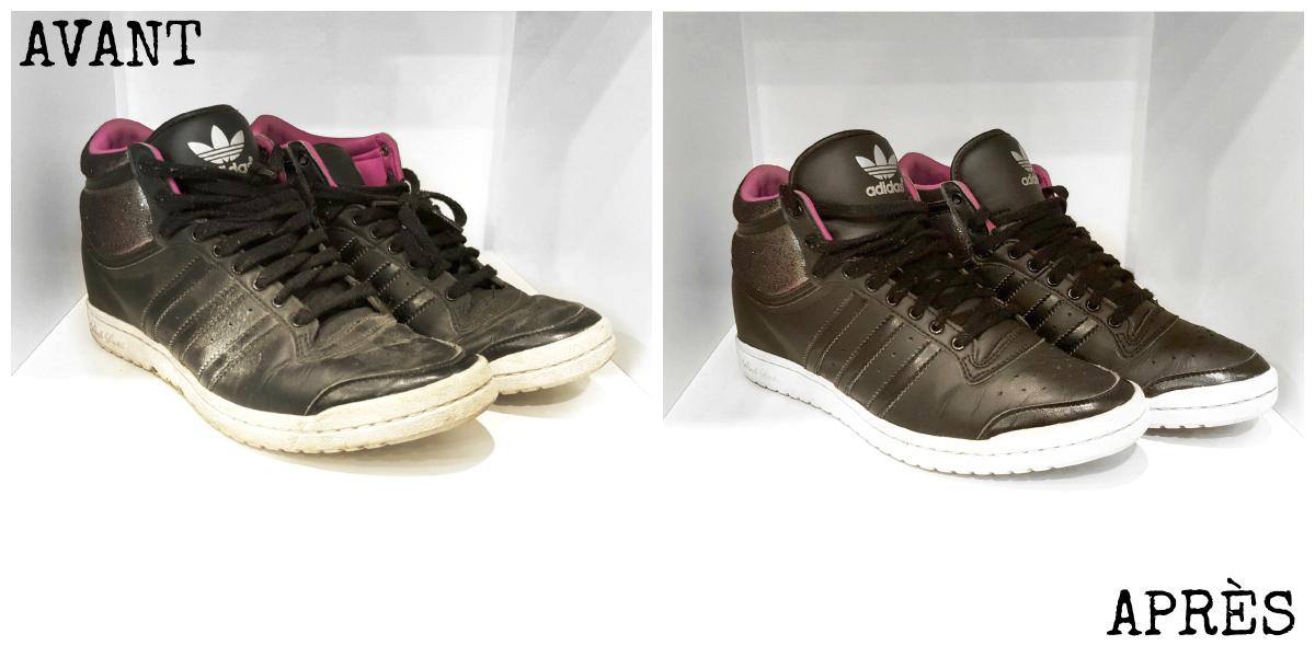 lifestyle-comment-jai-sauve-mes sneakers-and-chill-afrolifedechacha-avant-apres