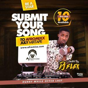 Afromixx July Mixtape Artwork