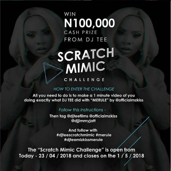 DJ Tee Scratch Mimic Challenge (DJ Competition)