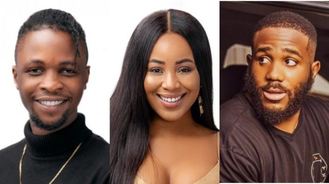 Daddy Freeze reacts to the romantic entanglement between BBNaija housemates, Laycon, Erica and Kiddwaya