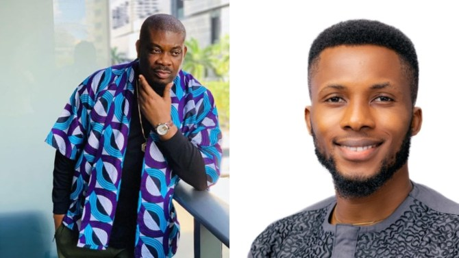 Donjazzy devastated about Bright O's eviction from BBNaija