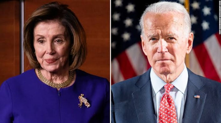 Joe Biden rejects Nancy Pelosi's suggestion that he shouldn't debate Trump
