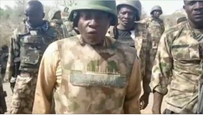 My husband can't talk and my son is missing, Mother of soldier who shot viral video of General Adeniyi's outburst laments