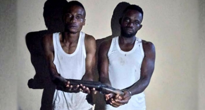 Two nabbed while going for robbery operation in Ogun