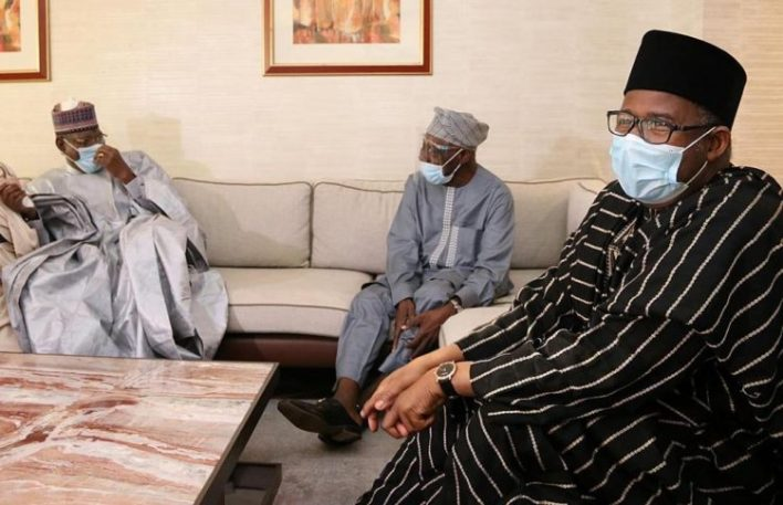 2023: PDP leaders visit Obasanjo, Jonathan, others