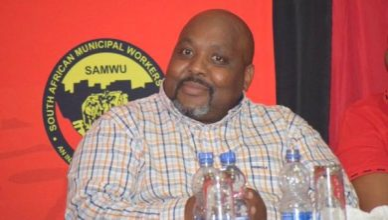 Samwu president John Dlamini is dead