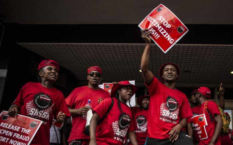 Nehawu launch protest over increase in salary
