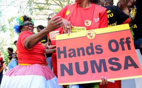 Workers protest outside UIF offices demanding payments of funds