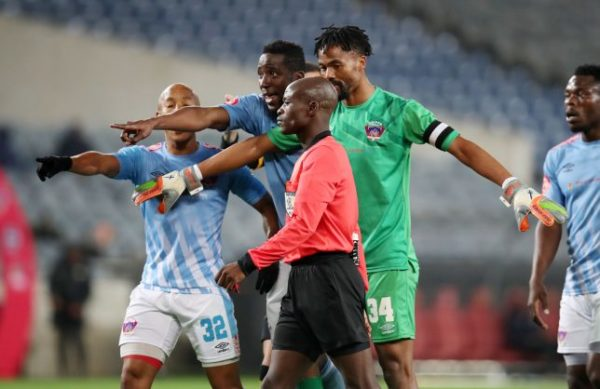 Ebrahim in support of referee for disallowed Chippa 'goal' against Chiefs