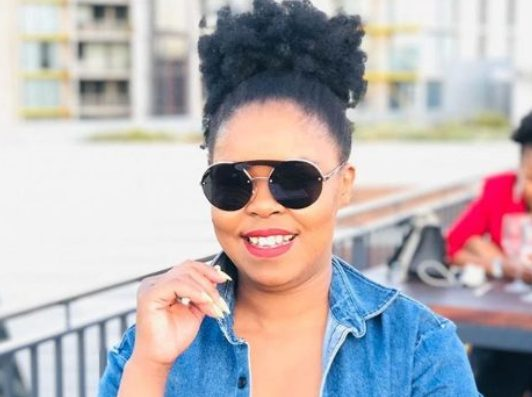 Zahara's tribute to late Chadwick Boseman lands her into the mud