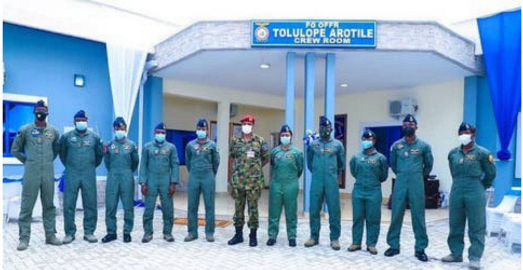 Airforce names building after late female combat officer, Arotile