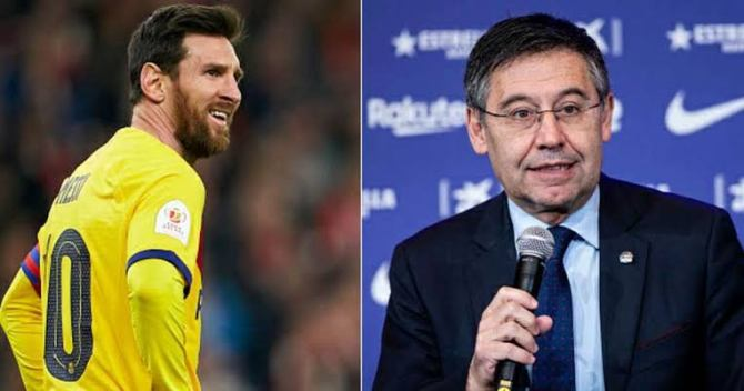 Barca President faces 'jail term' if he sells Messi