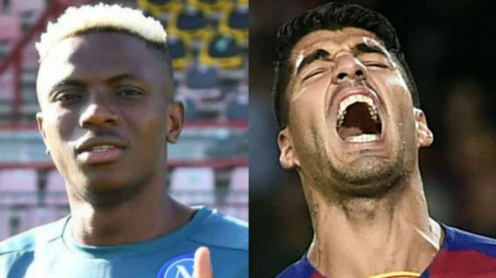 Calenda claims Barcelona wanted Osimhen to replace Suarez