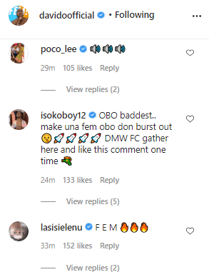 Davido finally resume social media activities, Fans react