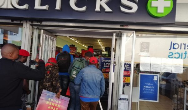 Clicks suspends two of its employees