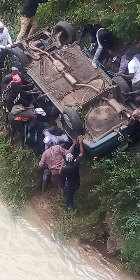 Ghastly accident kills 2 ABTU final year student, 1 other
