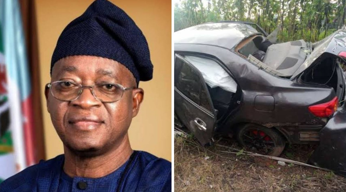 Gov Oyetola reacts to death of 'yahoo boy' being chased by JTF in Osogbo