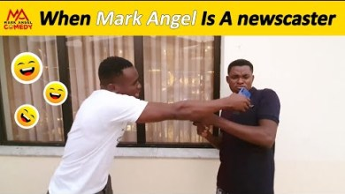 When Mark Angel Is A Newscaster | Funny videos