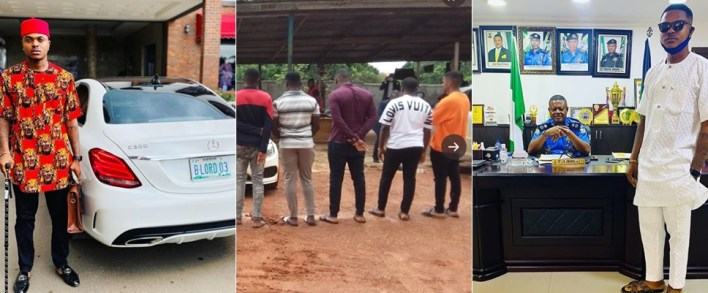 Instagram Celeb, Bitcoin Lord amongst 14 alleged fraudsters arrested in Anambra