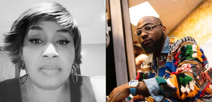 Kemi Olunloyo claims Davido's Mum was her Bestie