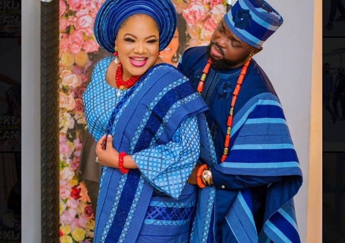 Kola Ajeyemi pens romantic message to wife Toyin Abraham
