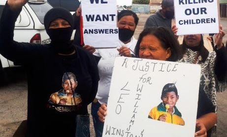 ST Helena Bay residents wants justice for boy killed by stray bullet