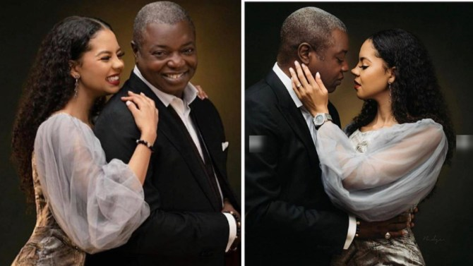 Nigerians react as billionaire's daughter, Adama Indimi is set to marry someone old enough to be her father