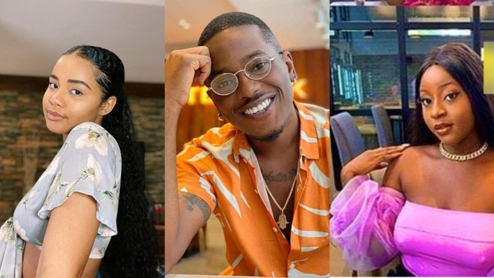 Nollywood actor, Timini in a big mess as his girlfriend and side chick battle fiercely on social media