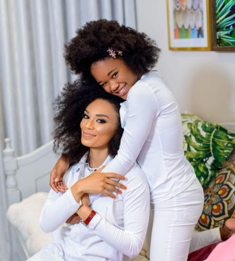 Pearl Thusi's daughter, Thando is 13 today
