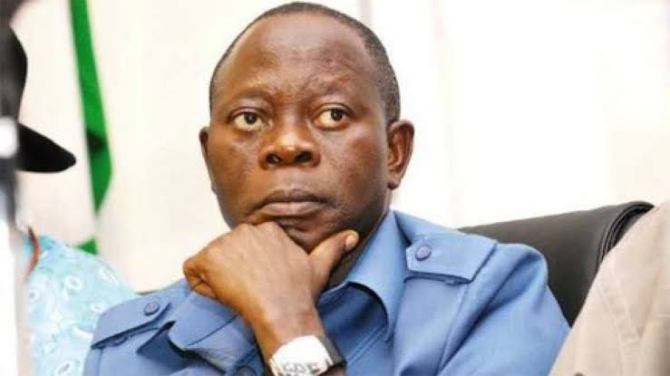 JUST IN: Oshiomhole escapes death as two security aides die in road crash