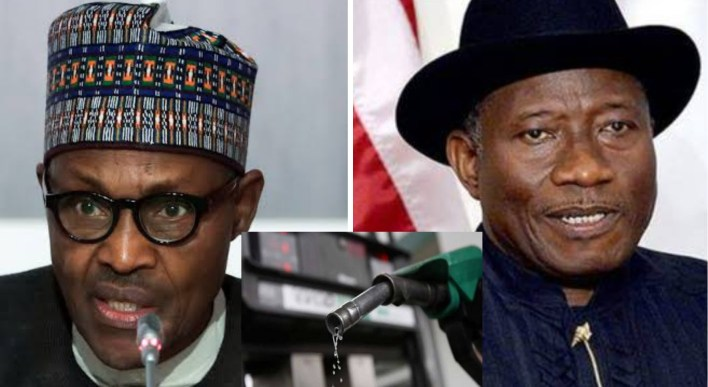 Presidency defends fuel price hike, reminds Nigerians how Jonathan's PDP govt sold petrol for N600/Ltr
